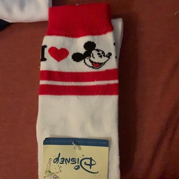 I ❤️ Mickey socks